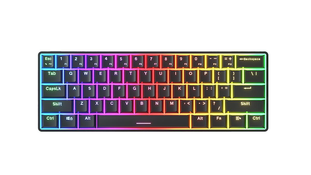 China KY-MK61 Keyboard en-gros One de mână Keyboard Keyboard Keyboard Gamer cu producători de prețuri bun - Keyceo