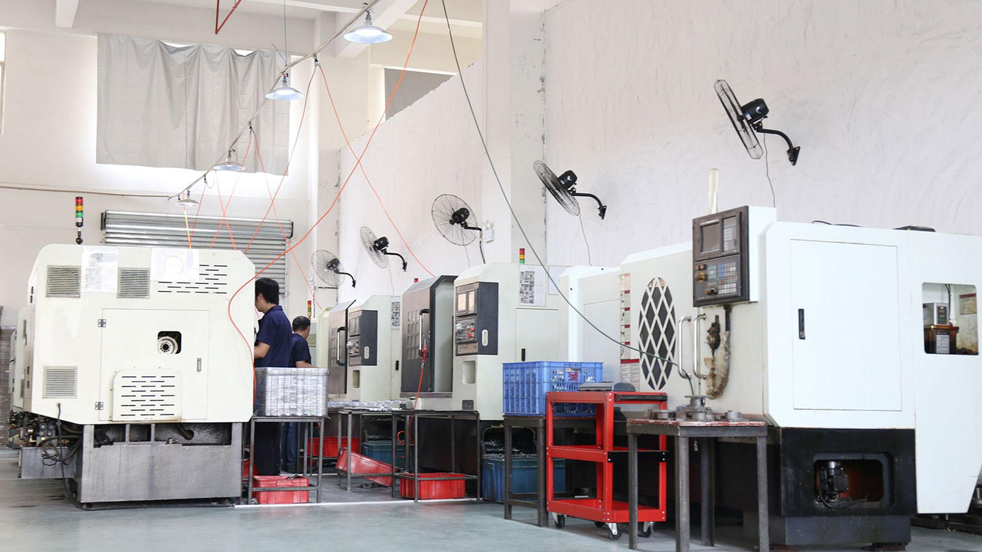 CNC-Bearbeitungswerkstatt