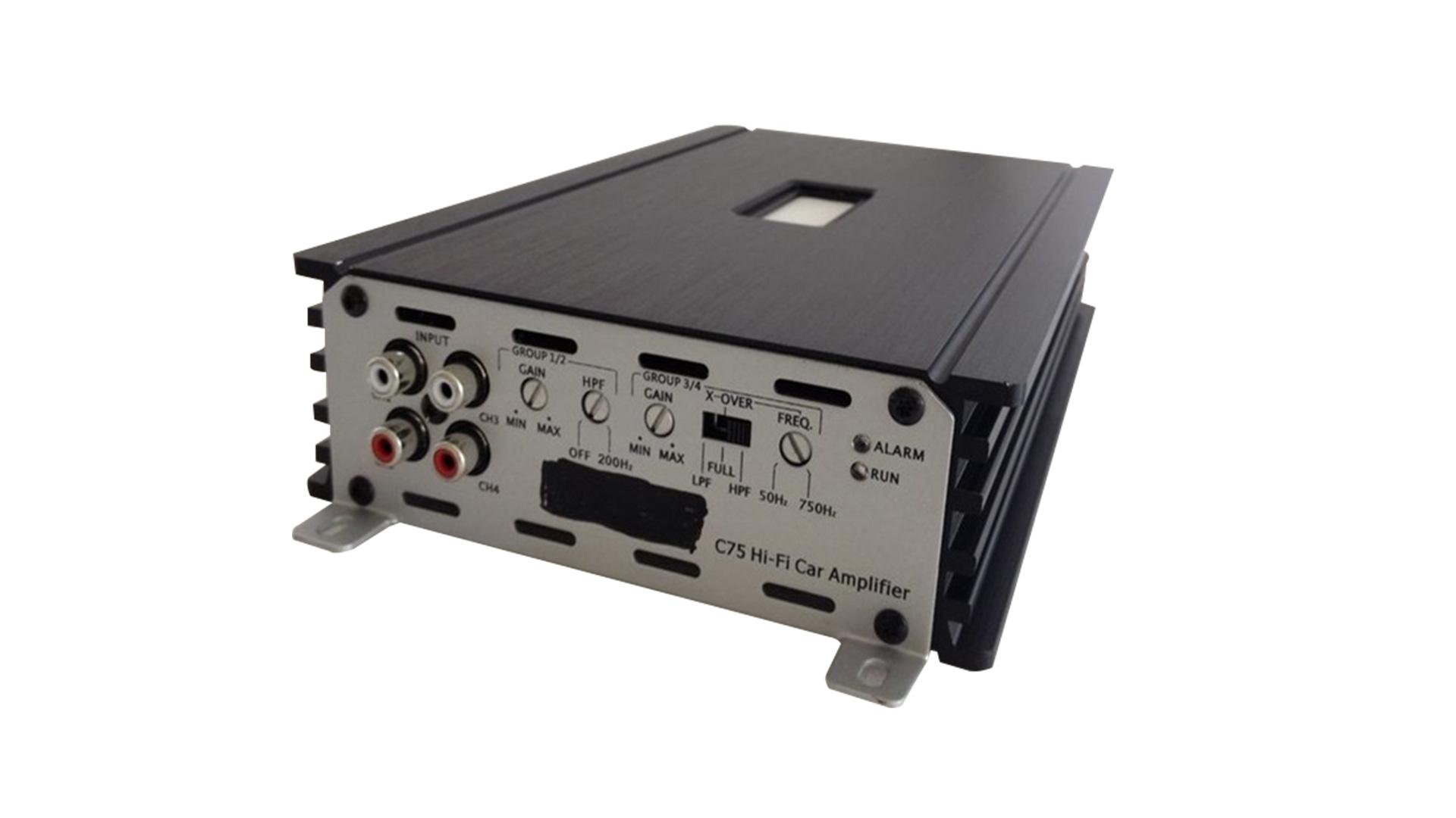 커스텀 베스트 4 채널 카 앰프 CK75.4