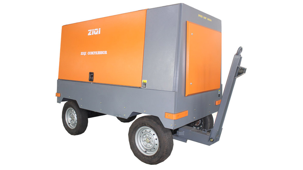 32~400kw Diesel Portable Screw Air Compressor For sale
