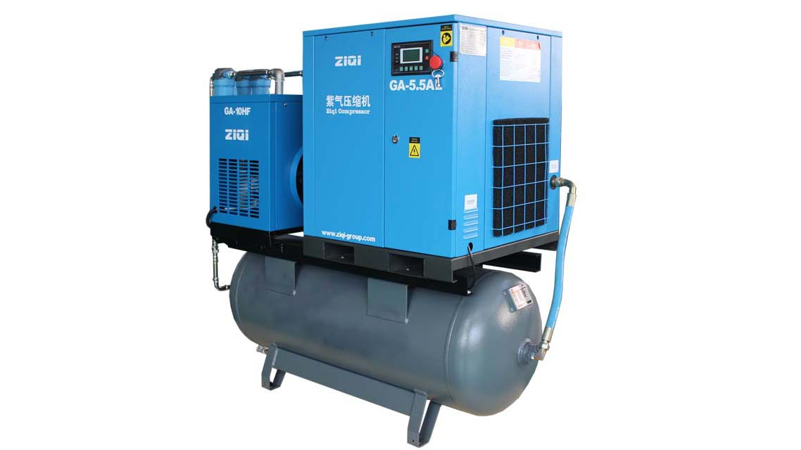 3.7~22kw Combined Screw Air Compressor