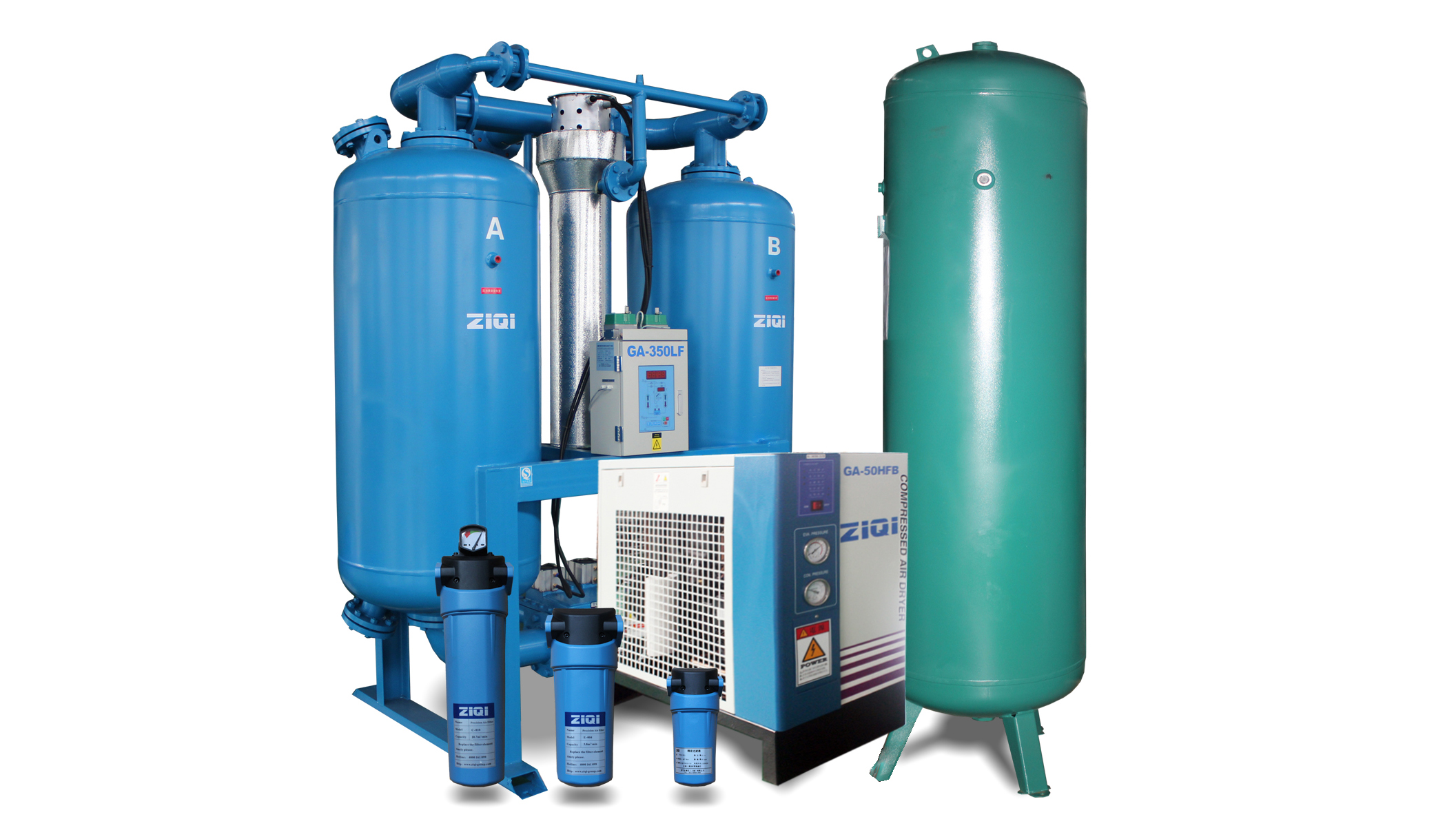 Bsest Compressed Air Treatment Equipment Manufacturer