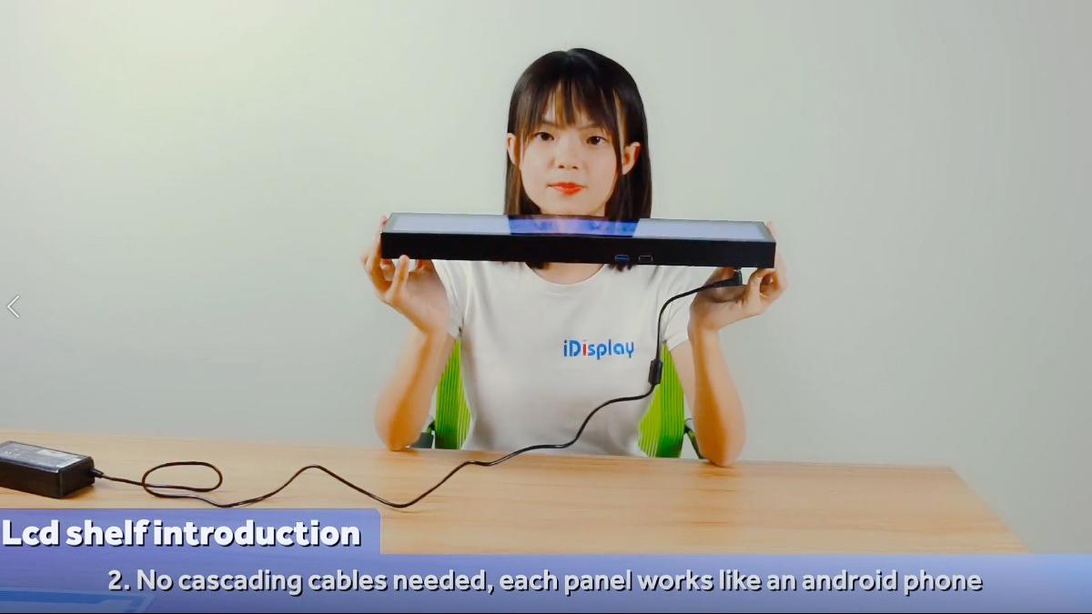 カスタム屋内フルカラーLEDディスプレイ看板液晶棚画面