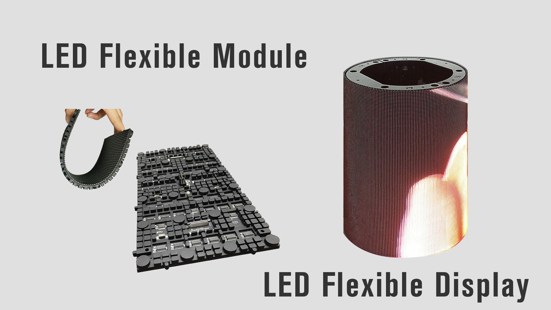 iDisplaylediFlexである屋内フレキシブルLEDディスプレイの360度ビュー