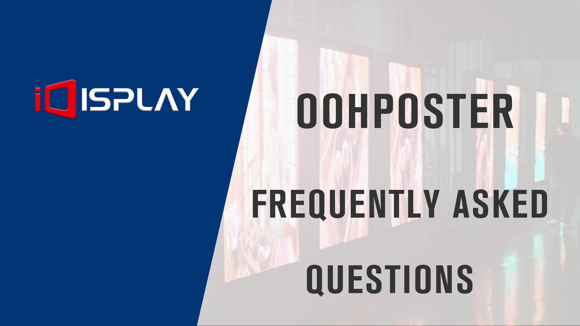 Veelgestelde vragen over OOHPoster