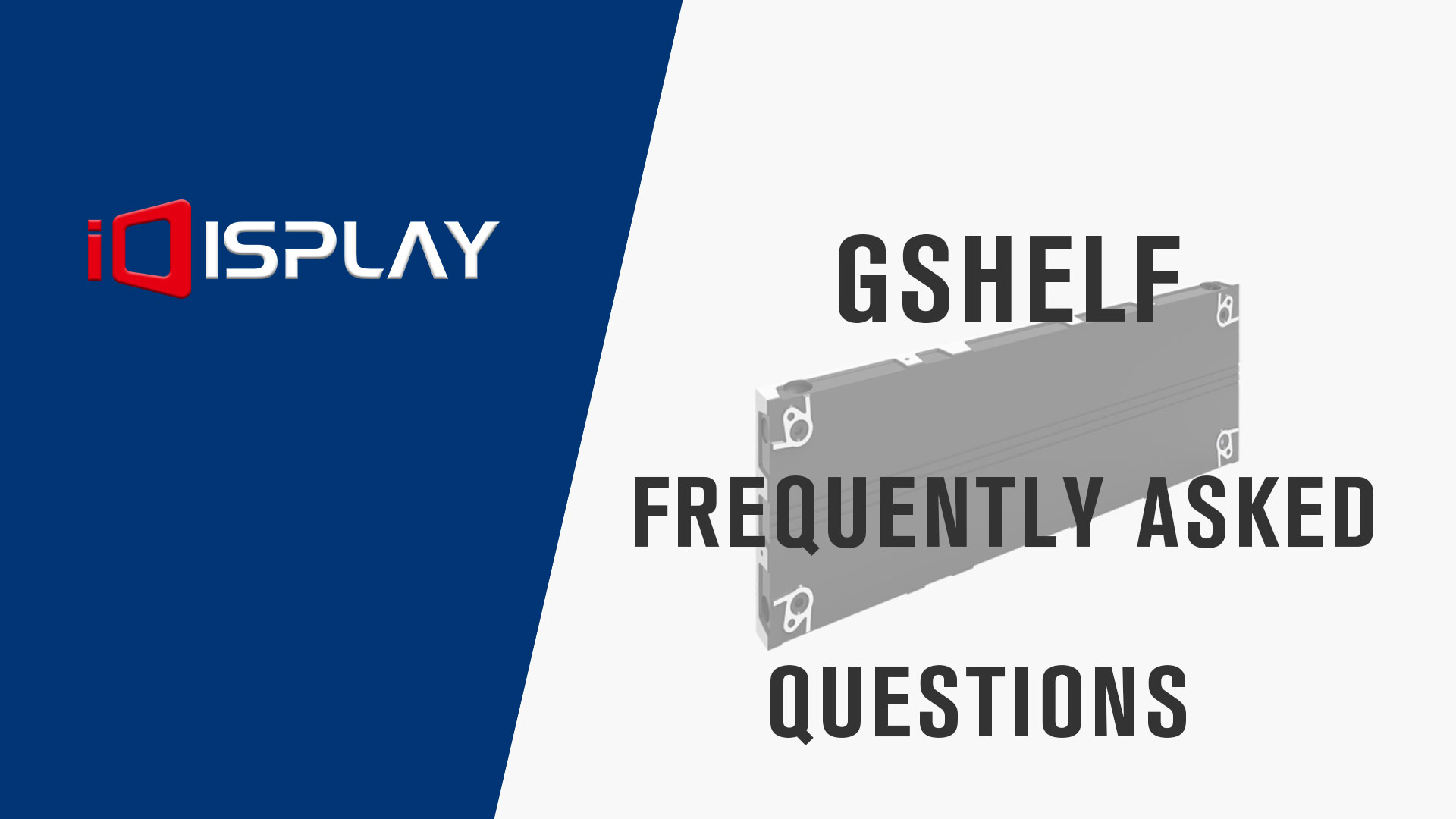 FAQ of Gshelf