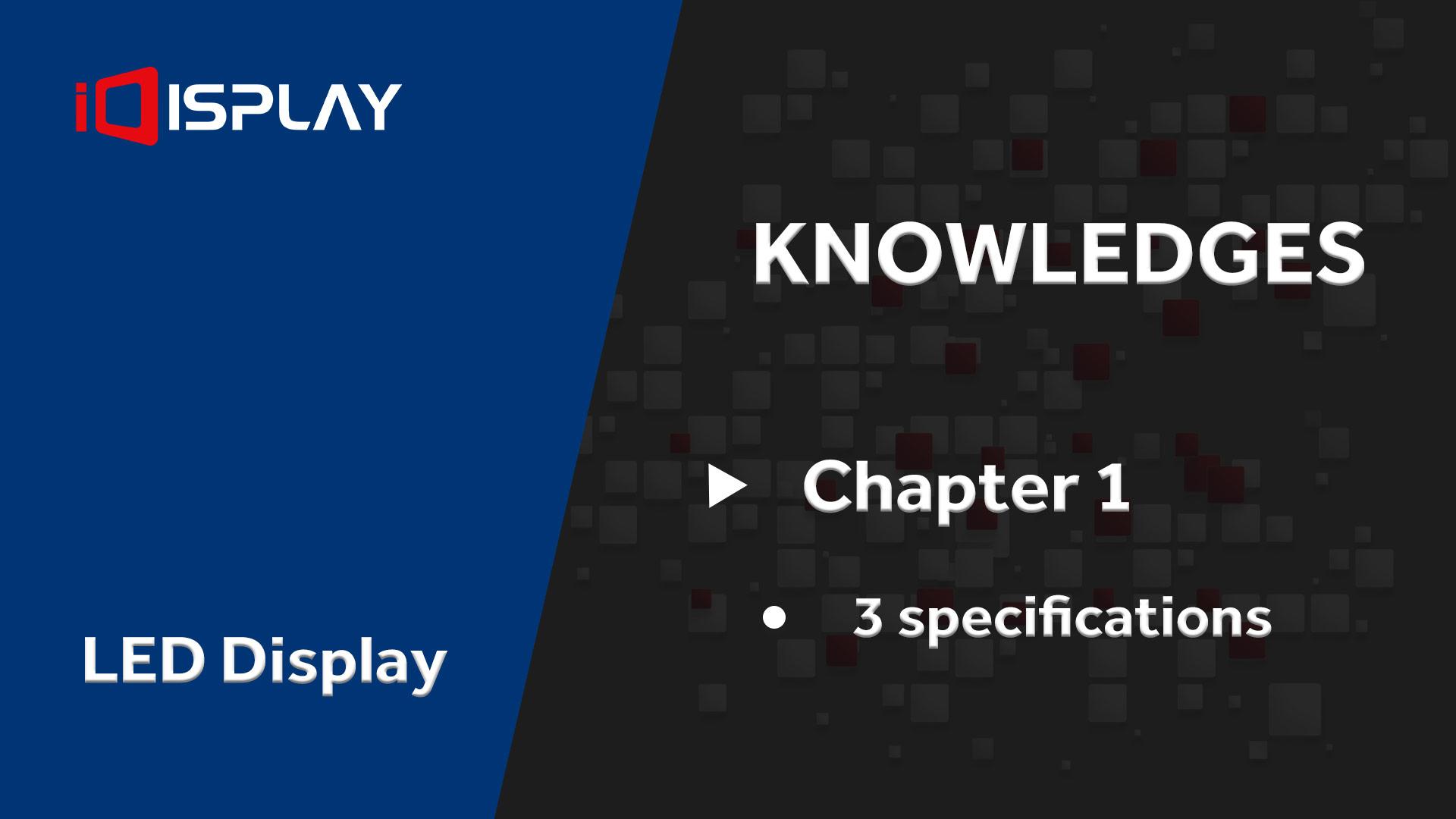 عرض المعرفة الأساسية LED - تصنيع غير مألوف