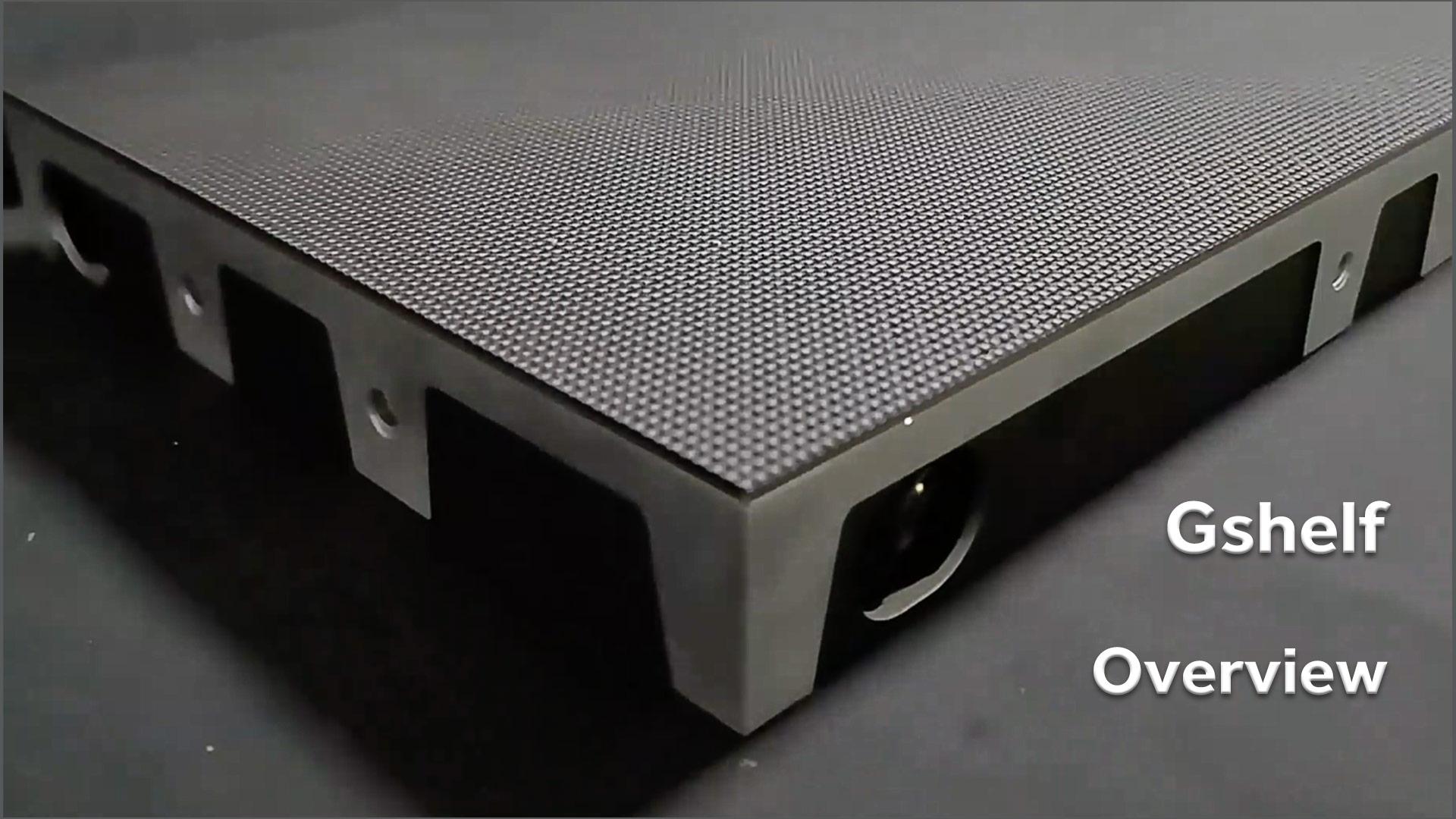 高品質のGshelf屋内LEDディスプレイの概要