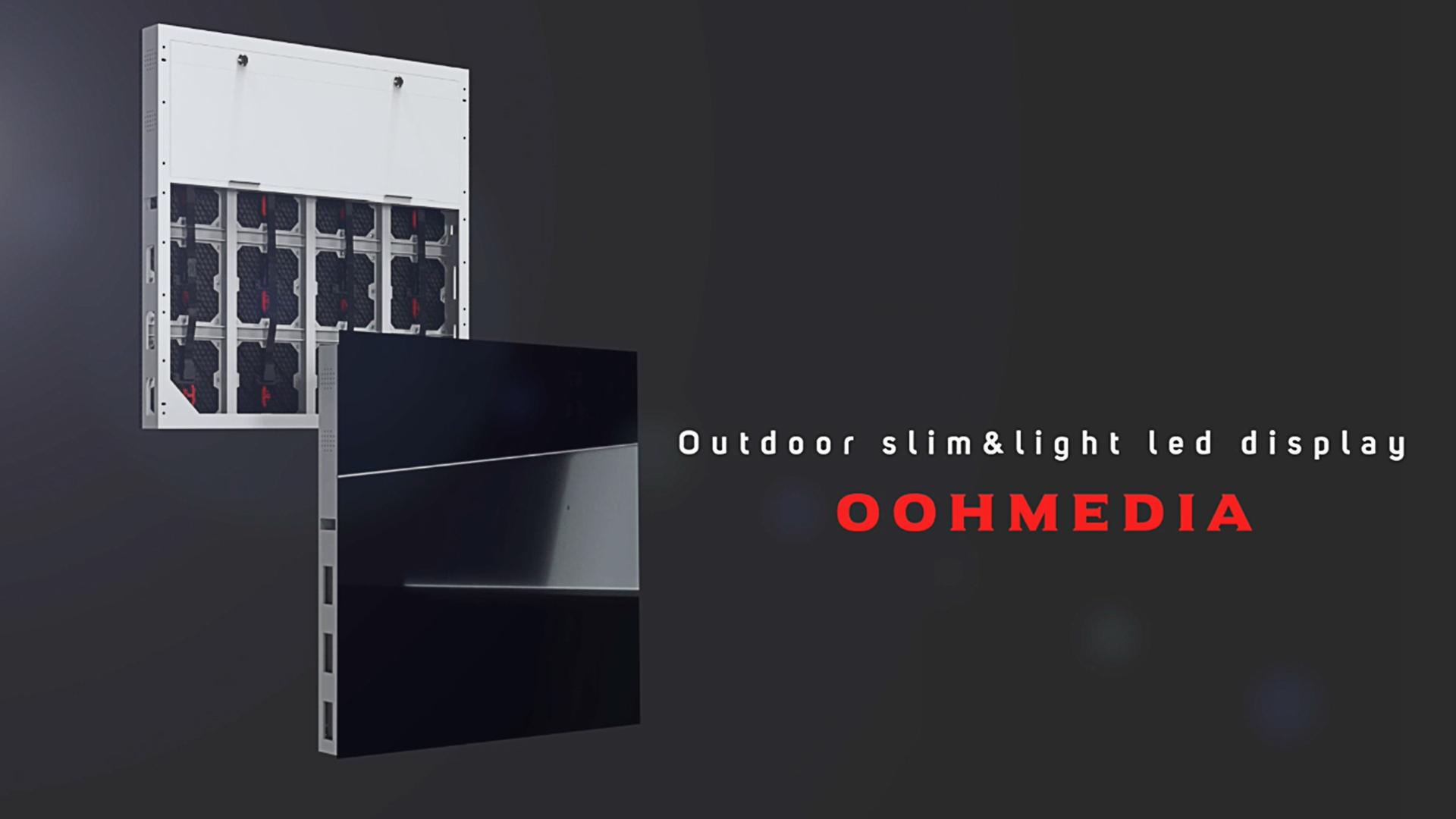 LED屋外ディスプレイOOHMedia-LEDディスプレイの概要