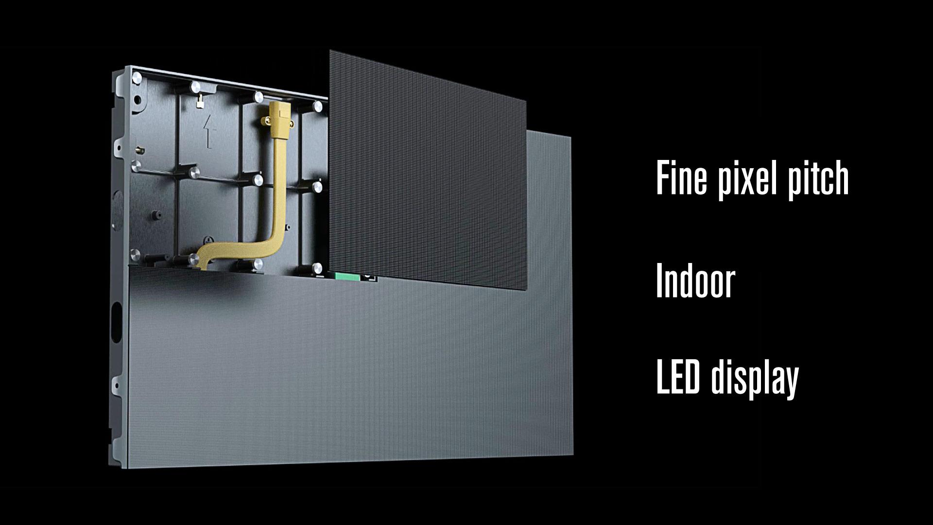 高品質のファインピクセルピッチ屋内LEDディスプレイ