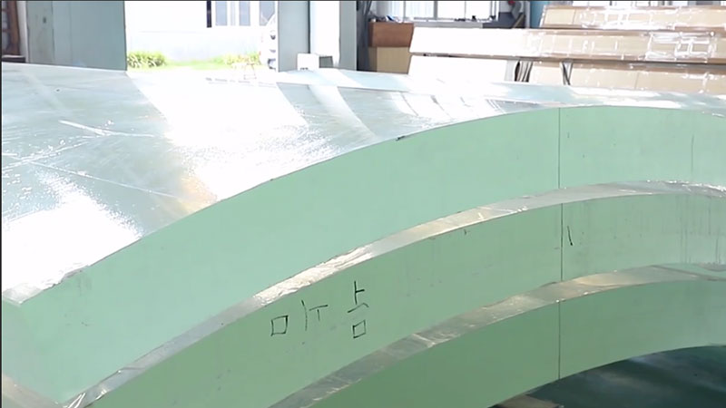 Acrylic Curved Panel