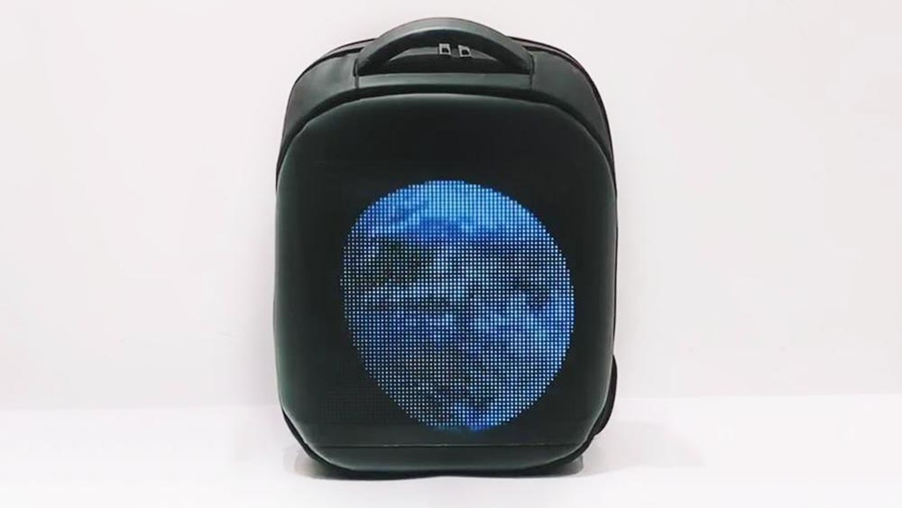 Customized LED backpack manufacturers From China for sale Lights