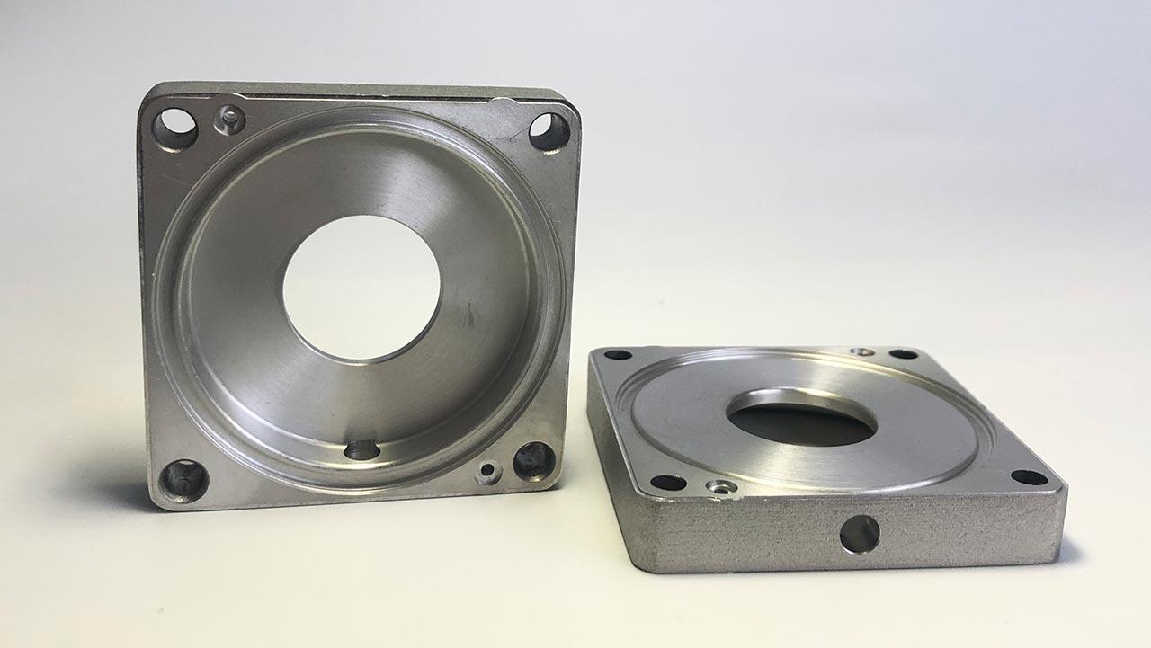 Präzisionsbearbeiteter Druck Luft Gas Wasserregler Wandler Medizinisches Instrument Teil
