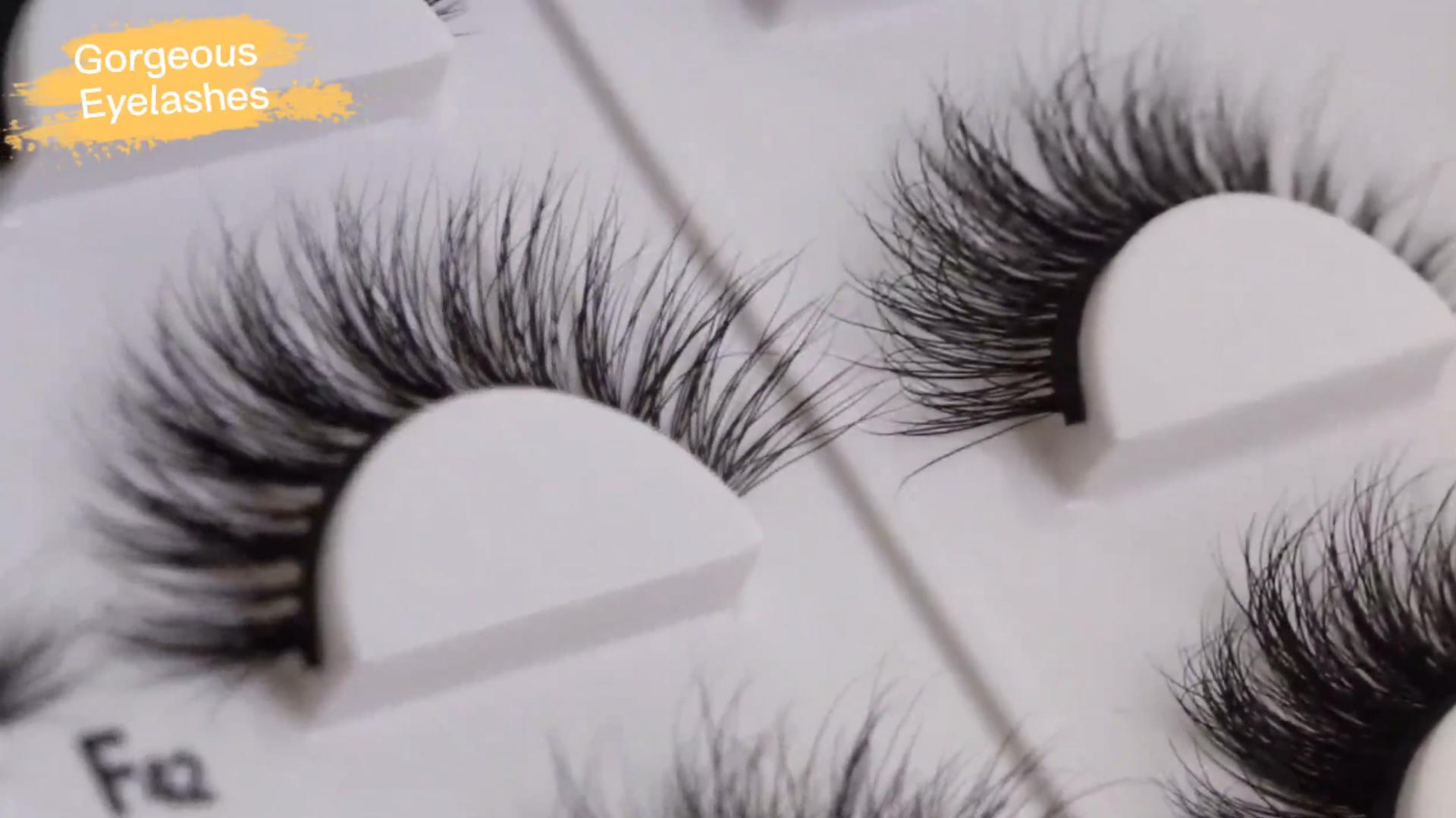 Introto 3d Cils De Vison 3d Faux Cils De Vison Gorgeous Eyelashes Ltd | Magnifique cil