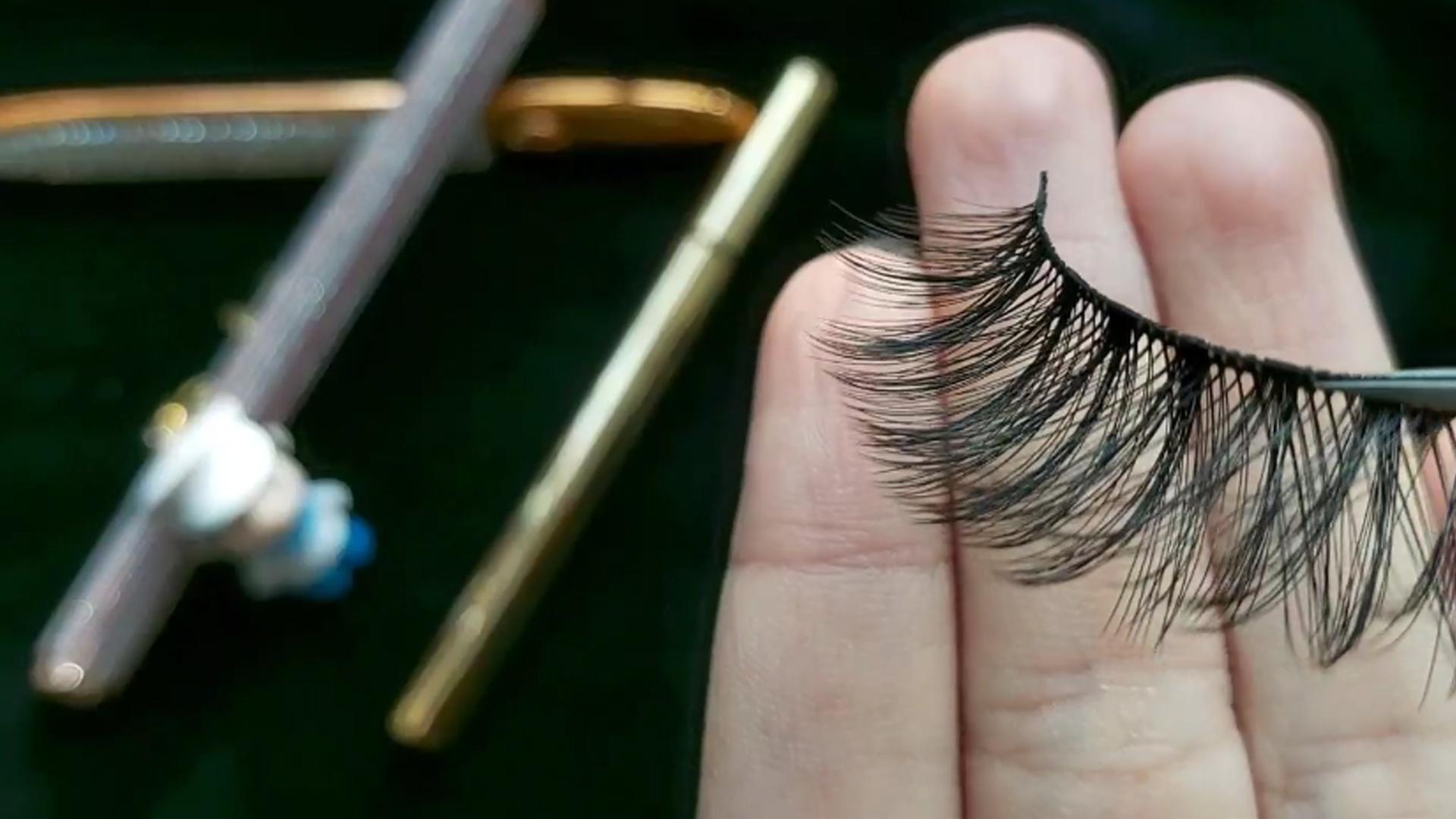 Chemical fiber + Eyeliner