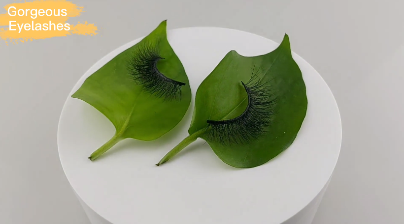 Kundenspezifische Private Label Wimpern Factory-Gorgeous Eyelashes Ltd.