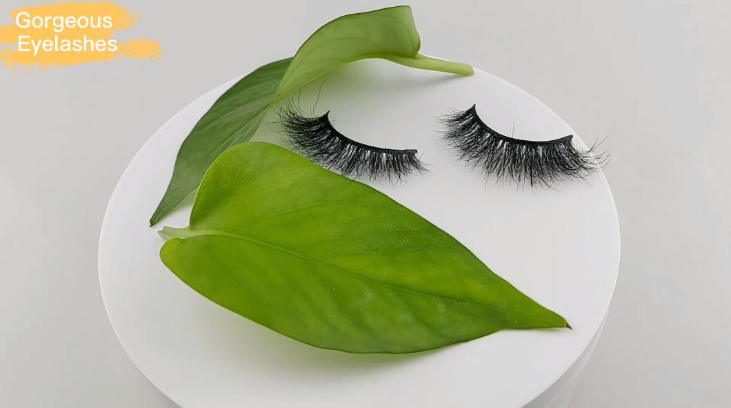 Real mink eyelashes vendor with custom lash box-Gorgeous Eyelashes Ltd