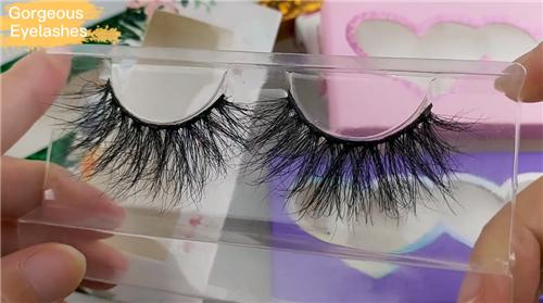Wholesale strip mink eyelashes manufacturer | custom lash boxes-Gorgeous Eyelashes Ltd
