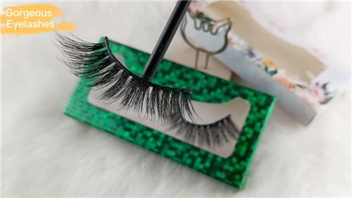 3D faux mink eyelashes with custom eyelash packaging factory-Gorgeous Eyelashes Ltd