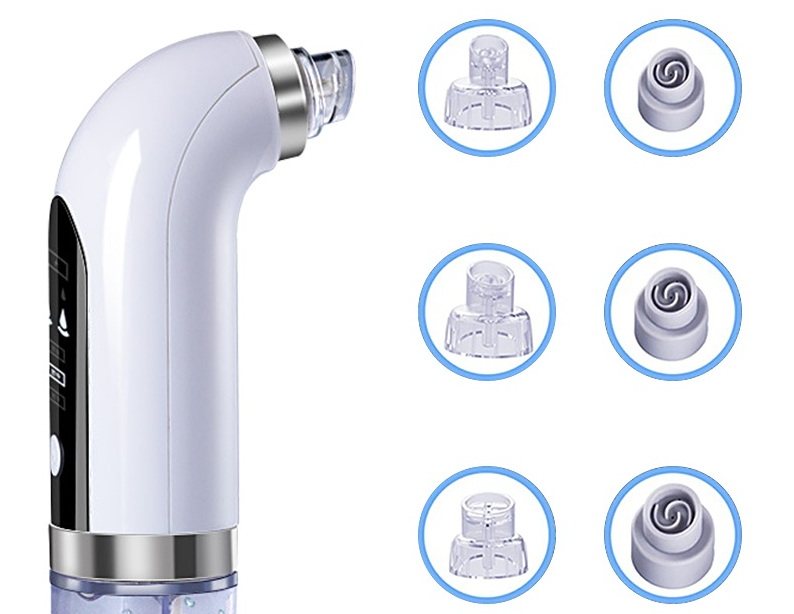 Small Bubble Blackhead Remover Electric Water Cycle Pore Acne Pimple Removal Vacuum Suction