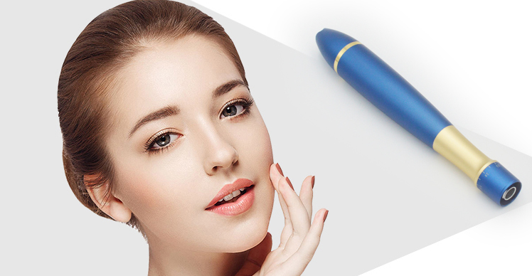 New Essenlite Derma Micro Needling Pen For Skin Wrinkle Removal Facial Massage Micro Needle Fractional Rf Q1