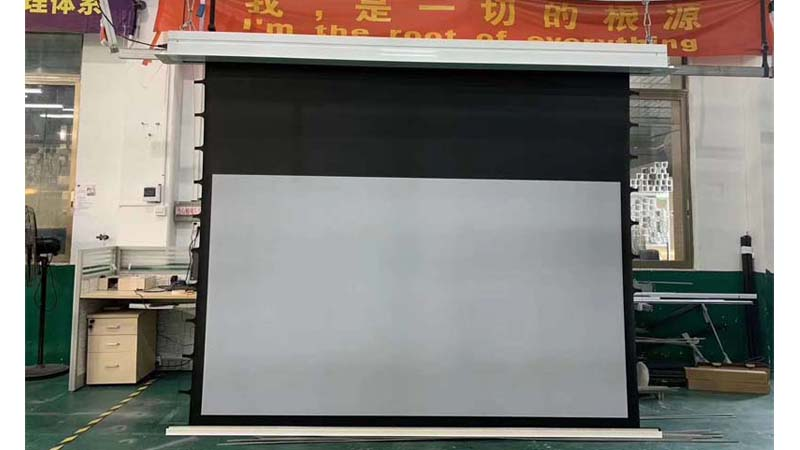 Professional xyscreen manufacturers in ceiling motorized projector screen alr ust projector screen for daylight