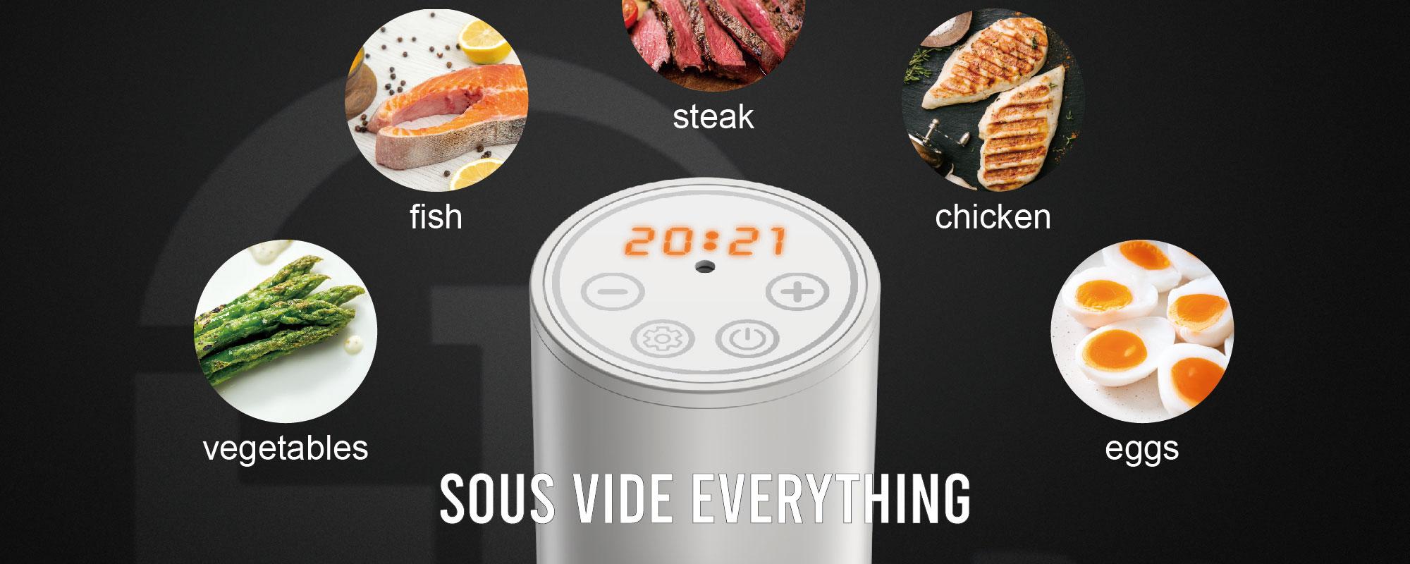 사용자 정의 완벽하게 부드러운 sous vide recipe 제조 업체 중국에서