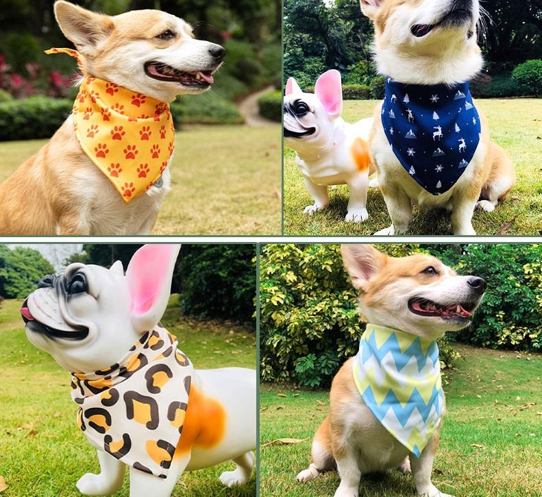 dog wear dog bandanas