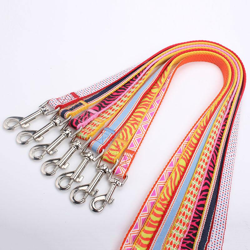 custom polyester dog leashes