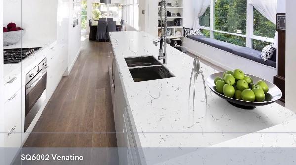 China poliert 3200x1600 Carrara White SQ6002 Venatino