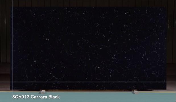Starker Quarzbester Verkauf von Carrara White und Carrara Black