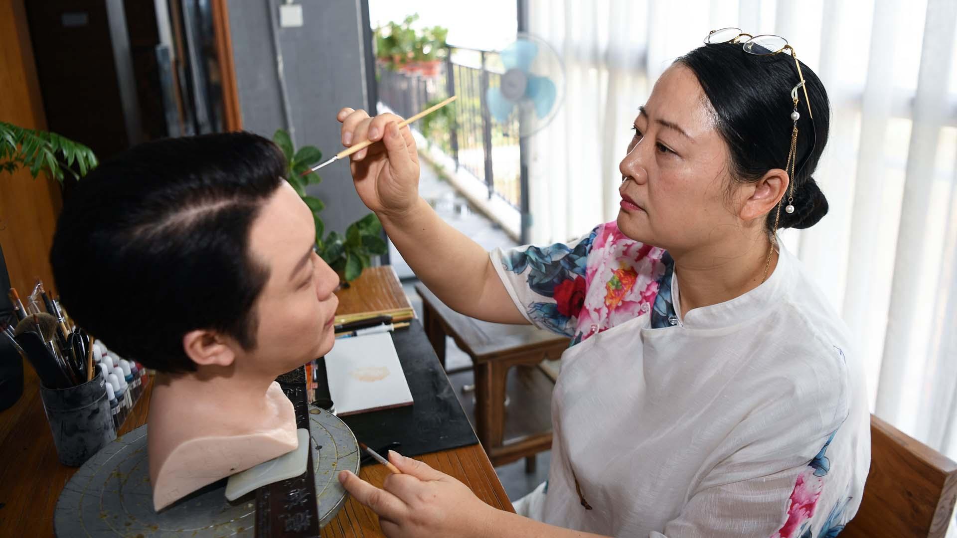"""Artista scultura Zhou Xuerong: dieci anni di """"ingenuità"""" per creare un museo nazionale di marca"""