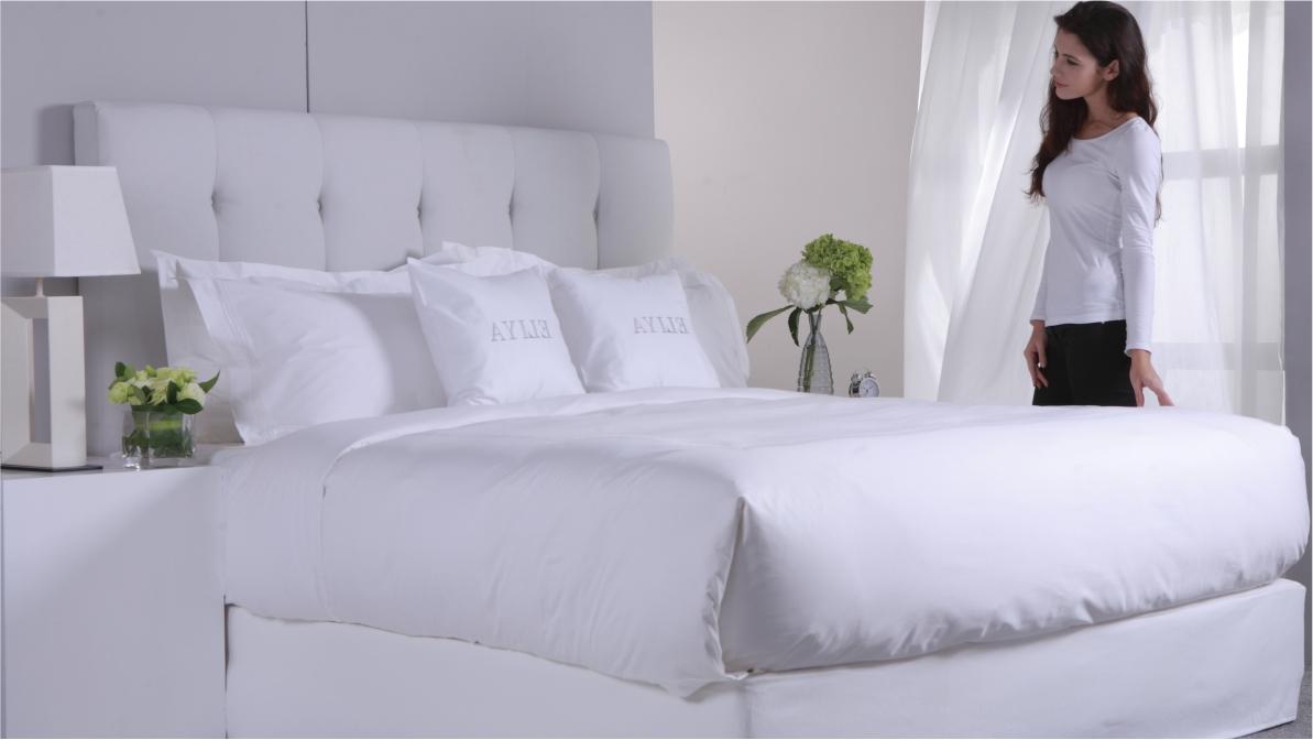 ELIYA Customized 4Pcs Piping Bedding Set