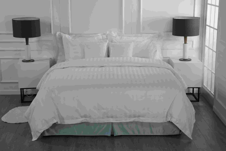 جودة عالية الفاخرة فندق صفائح فندق السرير فندق السرير السرير الكتان بالجملة - إليوا فندق الكتان المحدودة
