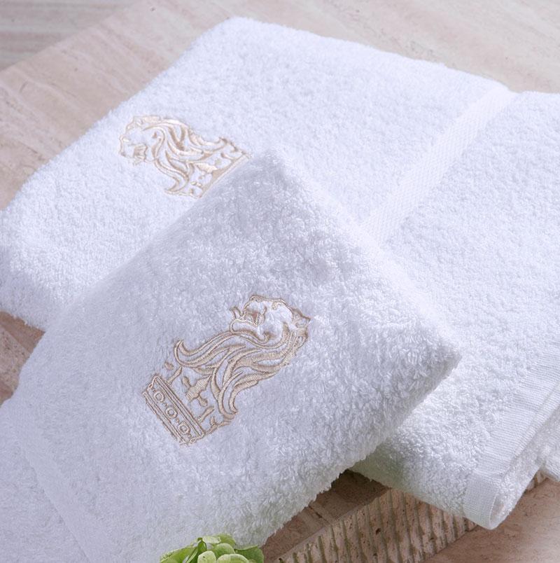 High Quality hotel towel set bathroom towel with embroidery logo Wholesale - ELIYA Hotel Linen Co., Ltd.