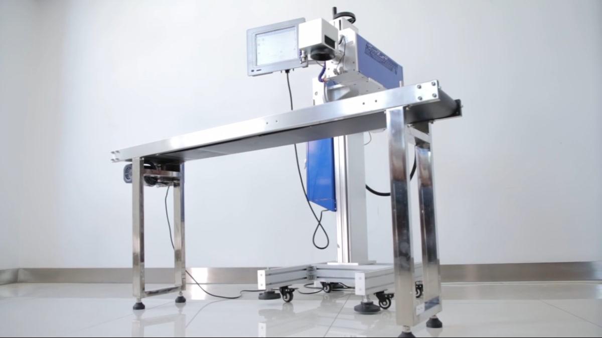 Clefine operational system PL350 fiber flying laser marking machine  | Faith