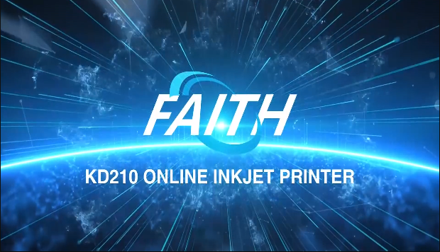 KD210 online expiry date stamping glass wood printing coding machine | Faith