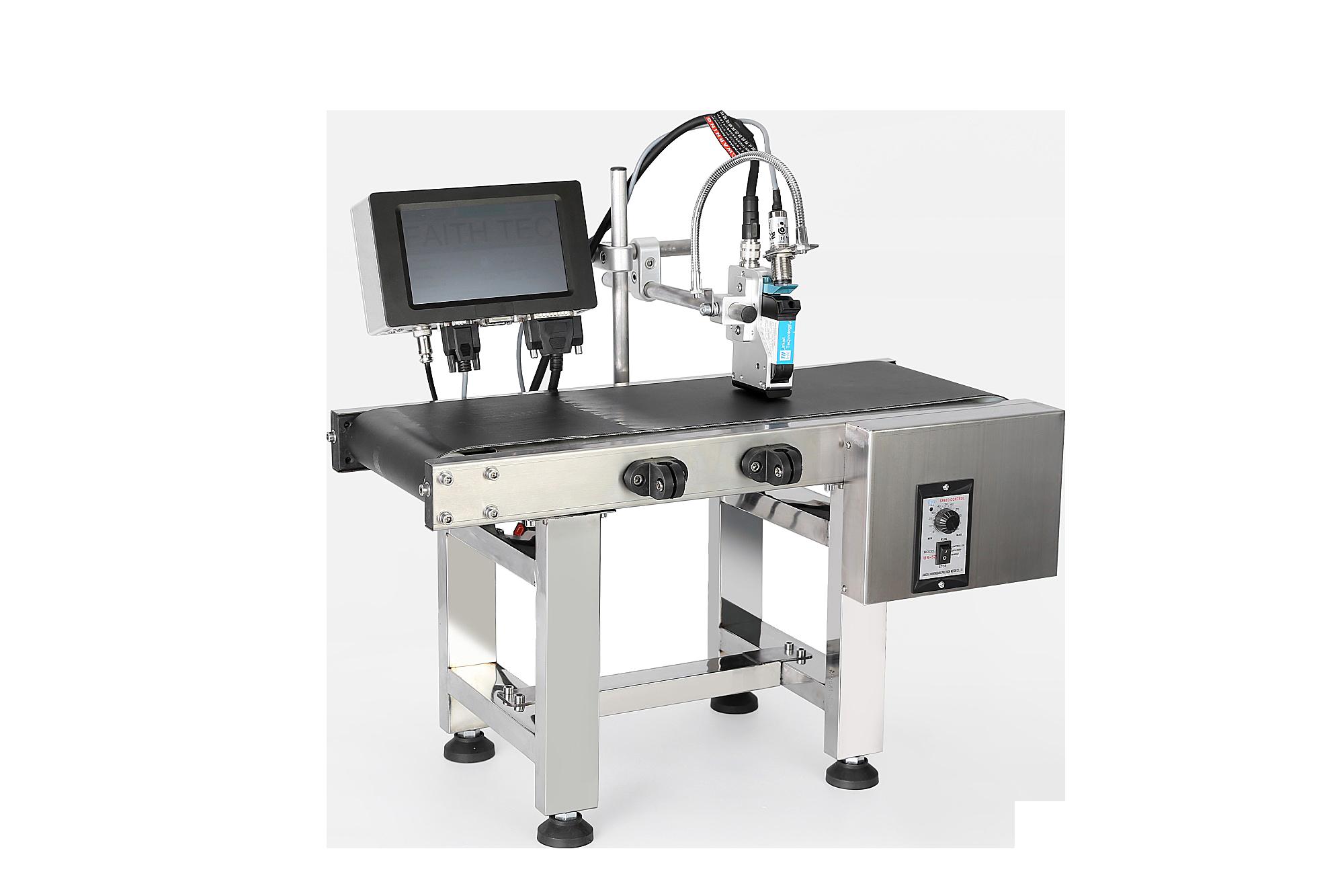 Производитель веры Производитель с низким потреблением Высокоскоростной цифровой онлайн струйный принтер промышленного принтера TEIJ INKJET