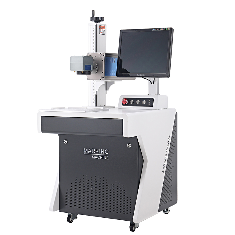 CO2 static laser marking engraving machine with Galvanometer 3D etching on drinkware glass cups