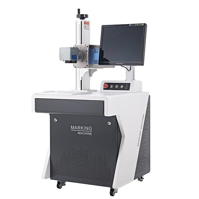 СО2 Статический лазерный маркировщик гравировальной машины с гальванометром 3D травление на стеклянных чашках