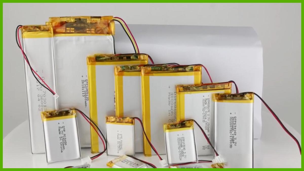 Professional custom lithium batteries 1s 2s 3s 4s 5s 6s 7s 8s Lipo battery & battery pack DTP battery