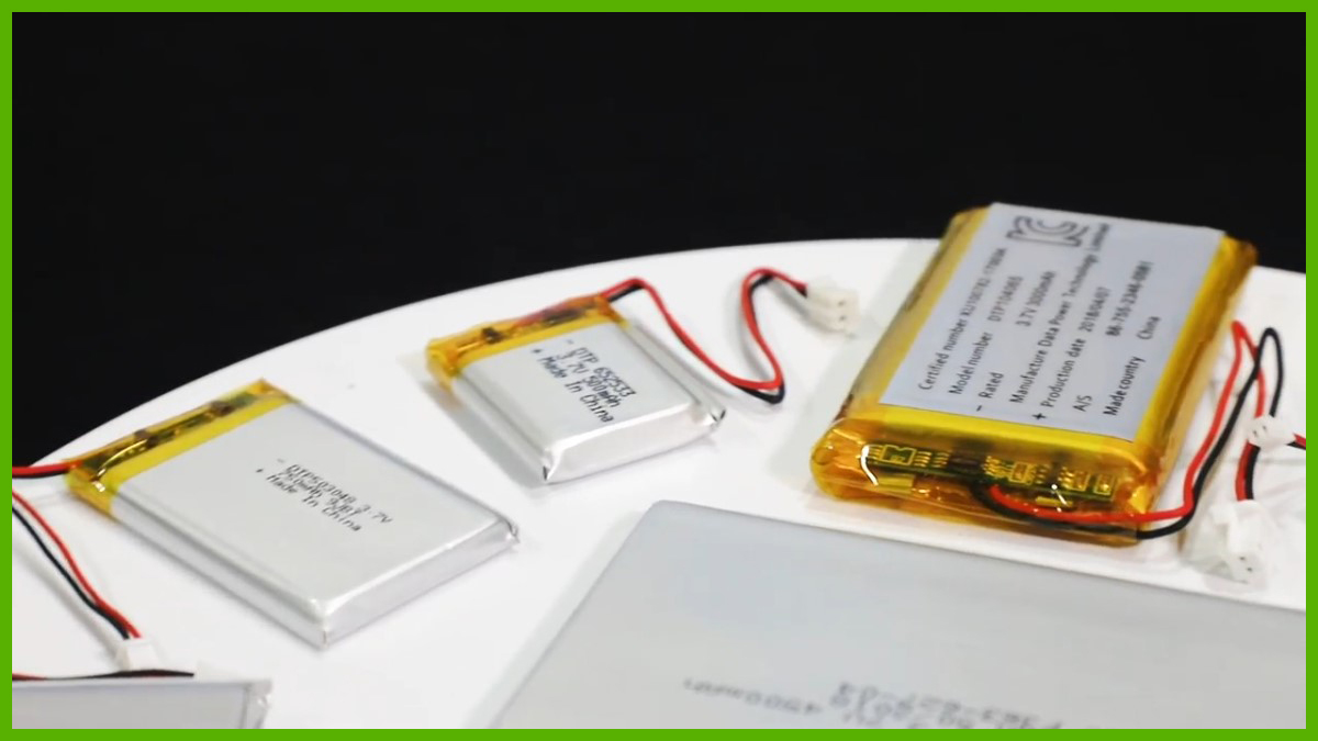 High Quality Lithium Polymer Batteries Lipo Cells Battery for Sale Wholesale - Shenzhen Data Power Technology Ltd.
