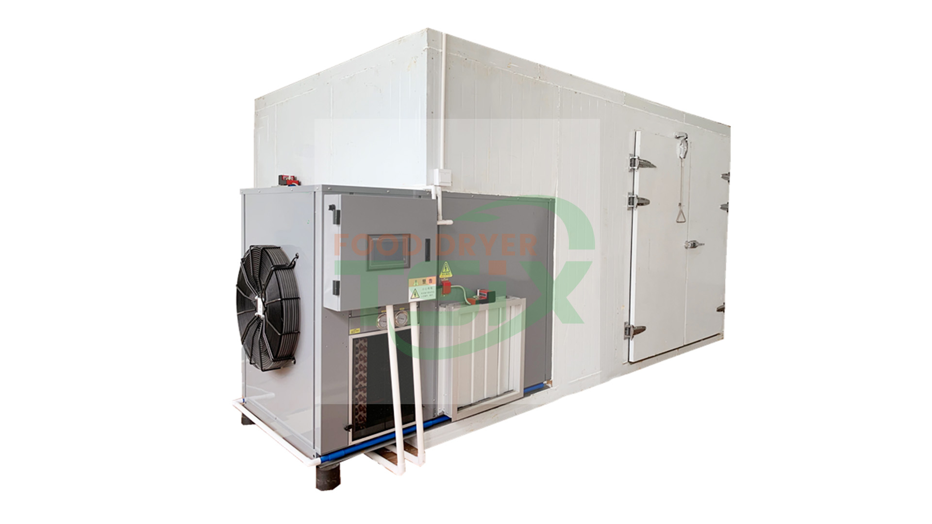 700kg Freeze Fish Drying Machine Dried Sardines Dehydrator Drying  Fish Oven DPHG080S-X Supplier