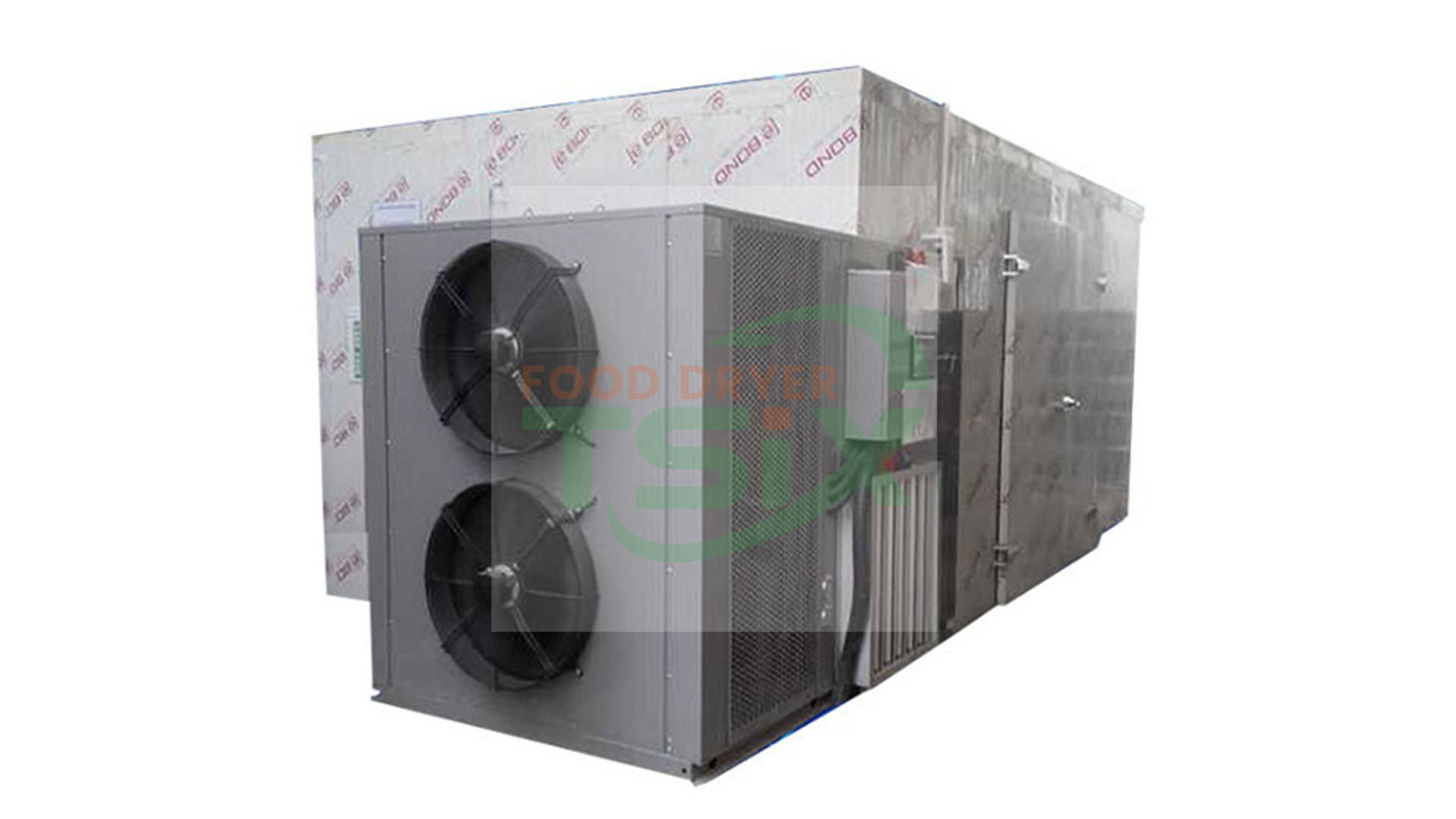 BestQuality 1500kg Fruit Dryer with Heating Drying Dehumdifying Funtions DPHG150S-G Factory