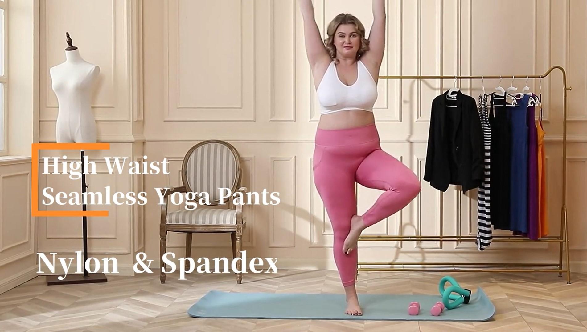 WZX Women's Plus-grootte joga broek met sakke groothandel OEM ODM
