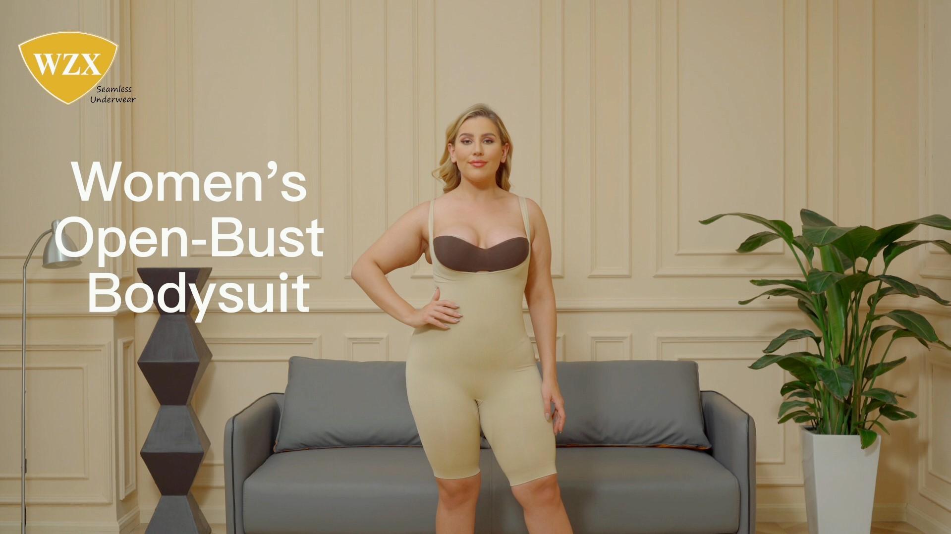 WZX bodysuit oop bors middellyf beheer liggaam shaper odm oem
