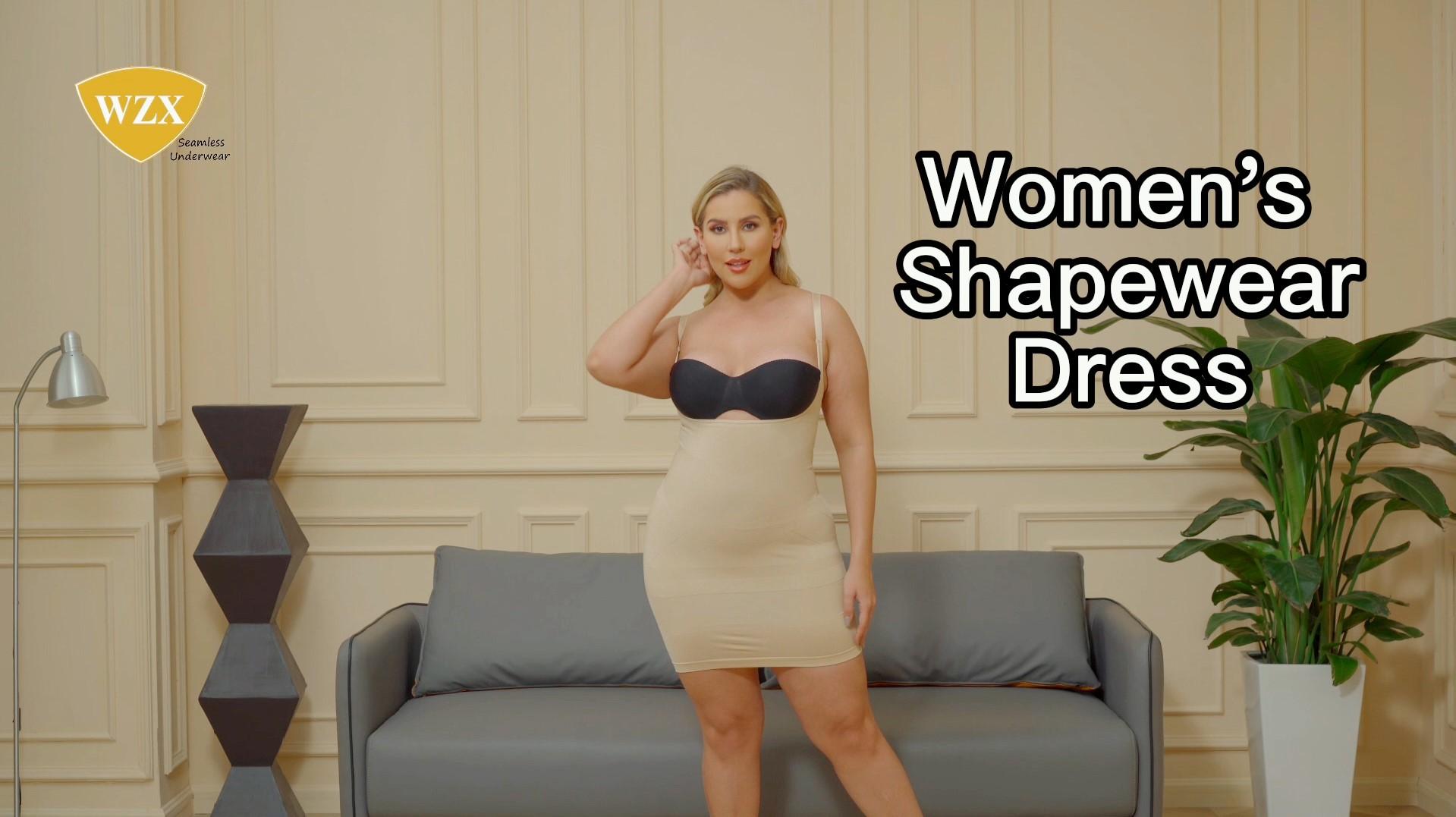 WZX Women's Oop Bust Slimming Slip Onder Dress Shapewear Factory OEM ODM