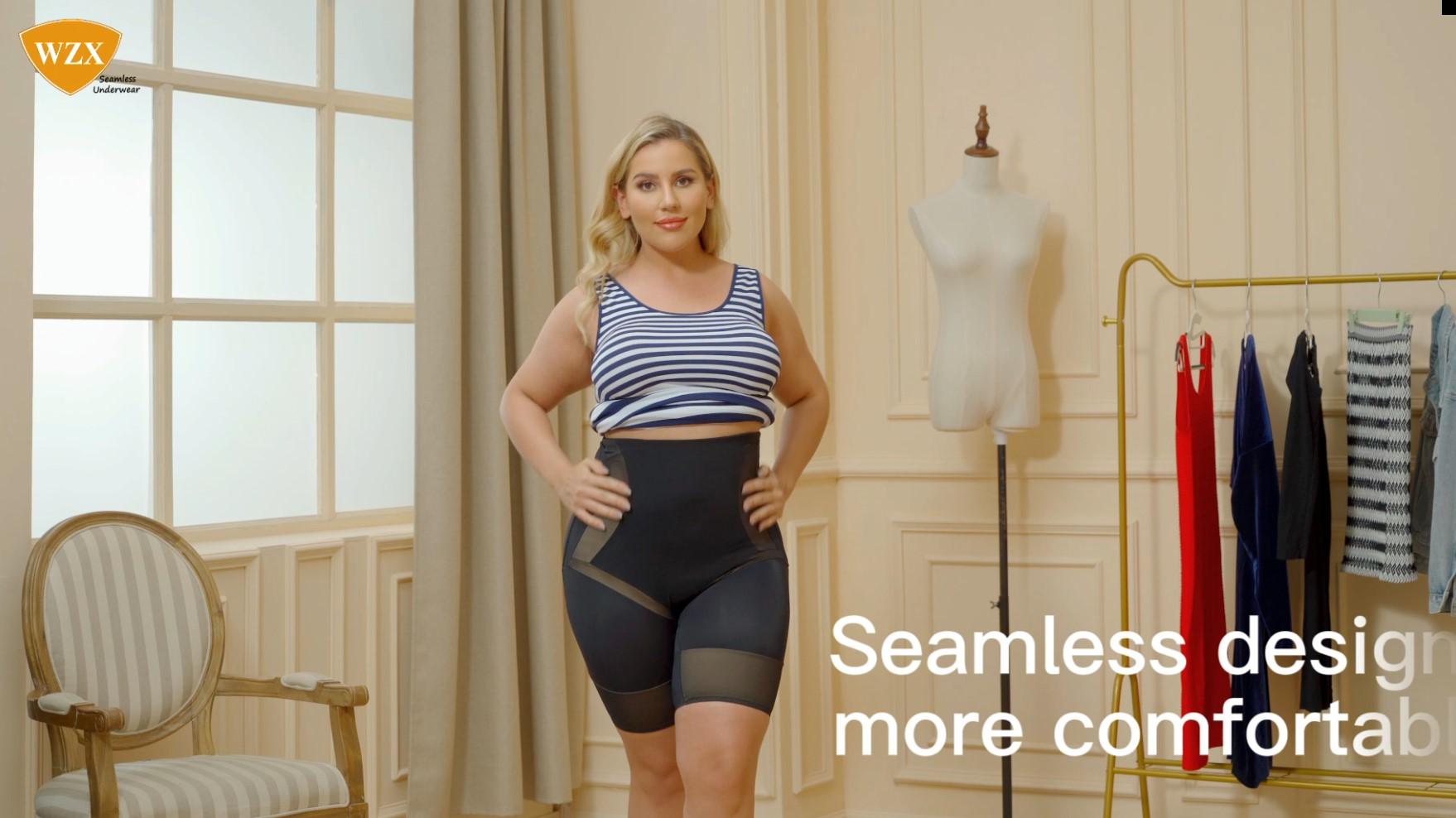 WZX Women Naadloze ShapeWear Tummy Control Midde-Thy Slimer Shorts OEM ODM