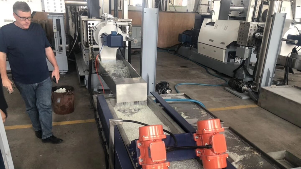Australia PP PE LDPE films Pelletizing machine 800-1000kg/hr