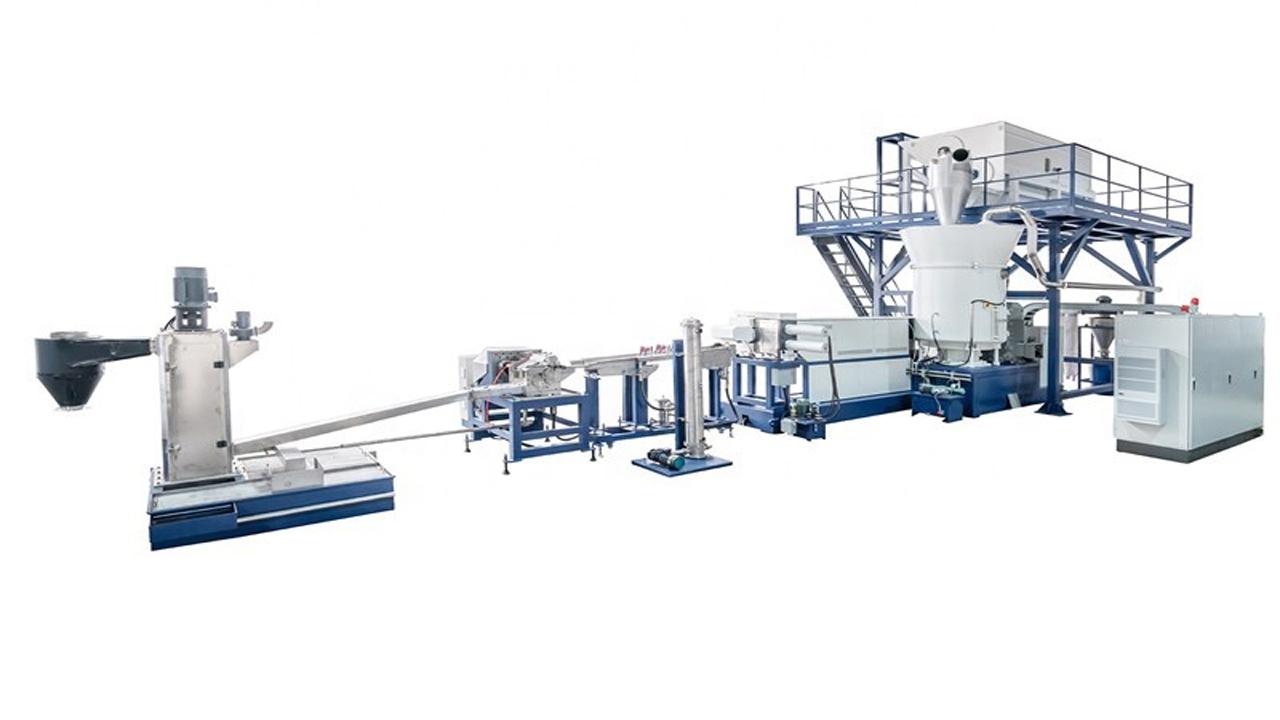 PET Plastic Pelletizing machine for sale 500kg/hr
